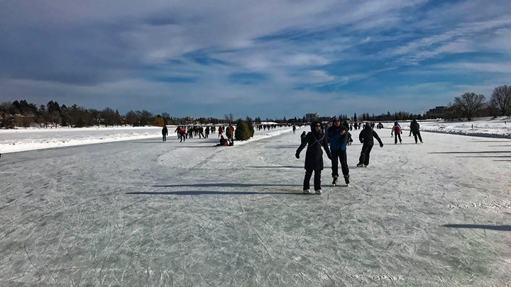 Winterlude may be over, but it looks like the Canal will be around for a while! Enjoy Winter #ottawa and skate safely!